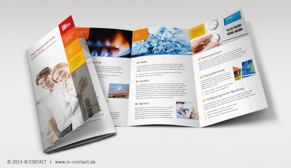 Gliedl Haustechnik - Din Lang Flyer