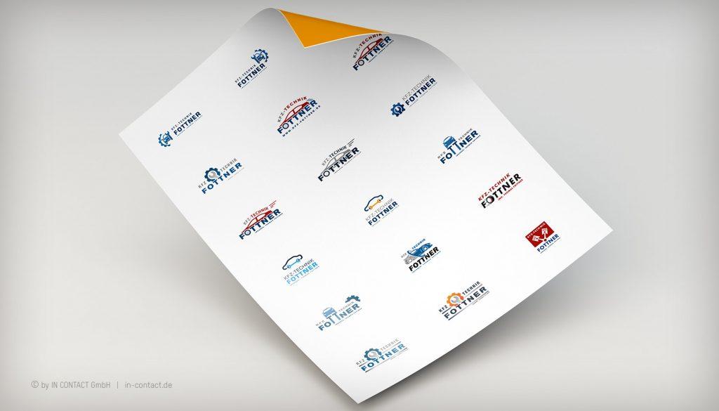 KFZ-TECHNIK FOTTNER Logoentwicklung