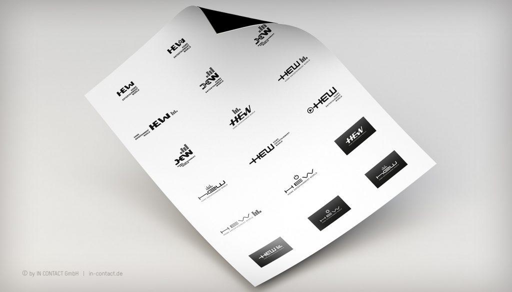 HEW - Logoentwicklung