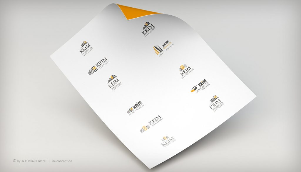 KEIM IMMOBILIEN - Logoentwicklung